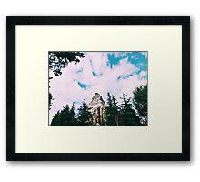 Disneyland's Matterhorn  Framed Print