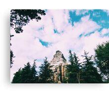 Disneyland's Matterhorn  Canvas Print