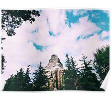 Disneyland's Matterhorn  Poster