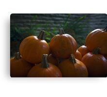October is here! Canvas Print
