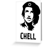 CHELL Greeting Card