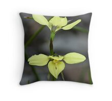 Diuris chryseopsis. Stawell Throw Pillow