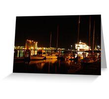 Night Reflection Greeting Card