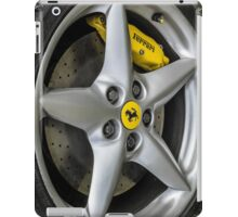 Ferrari Wheel and Tyre  iPad Case/Skin