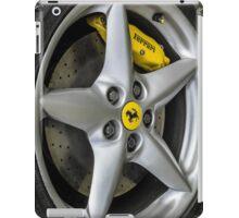 Ferrari Wheel and Tyre  iPad Case/Skin
