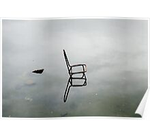 Lone Chair. Poster