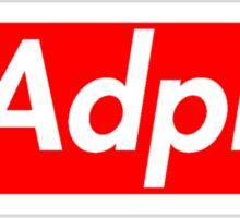 Adpi Supreme Sticker