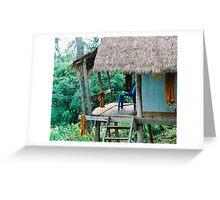 Monks Seat Koh Mak Greeting Card