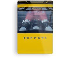 Ferrari F430 Scuderia Metal Print