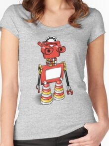 ViewBot 3000 Women's Fitted Scoop T-Shirt
