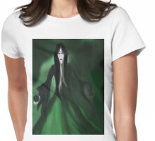 The Green Apple Womens Fitted T-Shirt