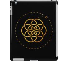 Earth & Moon - Gold iPad Case/Skin