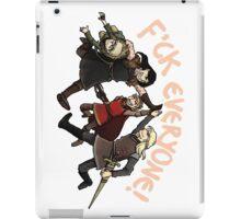 Villain Team-up! iPad Case/Skin