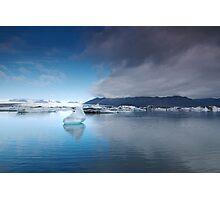 Lake of ice Photographic Print