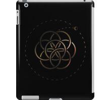Earth & Moon - Brass iPad Case/Skin
