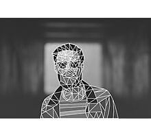 Chet (f)aker - Thinking in Vectors Photographic Print