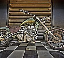Chopper in Colour by Vikram Franklin
