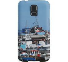 Fishing boat harbour Samsung Galaxy Case/Skin