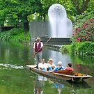 Punting on the Avon by John Brotheridge