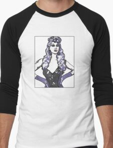 Violet Chachki  Men's Baseball ¾ T-Shirt