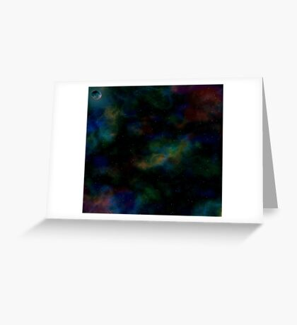 Fantasy Universe Greeting Card