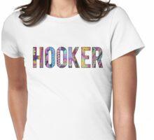 Hooker Womens Fitted T-Shirt
