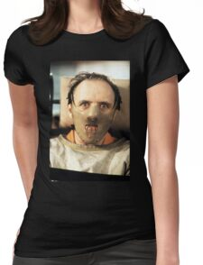 Hannibal Lecter Womens Fitted T-Shirt