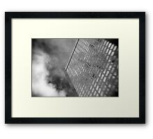 Office Tower With Reflections Framed Print
