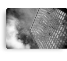 Office Tower With Reflections Canvas Print