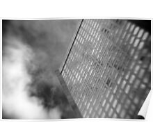 Office Tower With Reflections Poster