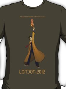Preserve the Space-Time Continuum: The Doctor in London 2012 T-Shirt