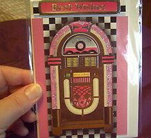 Handmade card - jukebox by anaisnais