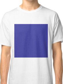 Beautiful Cushions/ Plain Blue (pigment) Classic T-Shirt