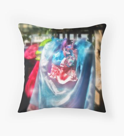 Dressing For Dreams Throw Pillow