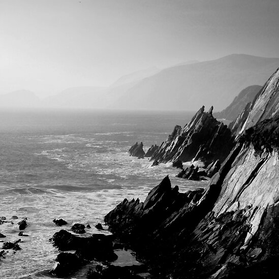The cliffs of Dingle, Ireland by Mitch  McFarlane