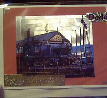 Handmade card/daddy/trains by anaisnais