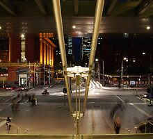 Bourke Street by Richard Hill