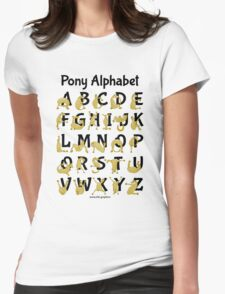 Pony Alphabet, Pink T-Shirt