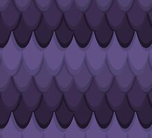 Purple Dragon Scales by chibityness
