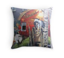 Age of destruction Throw Pillow