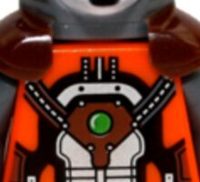 LEGO Rocket Raccoon Sticker