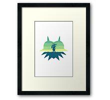 Zelda Majora's Mask Framed Print