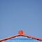 Blue Roof of Wooden House, Costa Brava by Petr Svarc