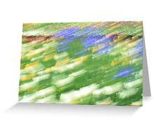 Impressionist at Floriade Greeting Card