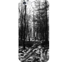 If you go down to the woods today... iPhone Case/Skin