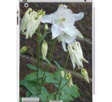 White Bells iPad Case/Skin