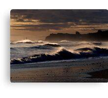 Whitby Seascape Canvas Print