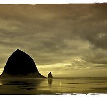 Haystack Rock by IKeepScreaming