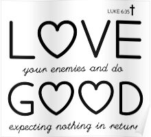 Love Your Enemies Poster