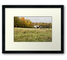 Old farm landscape 2 Framed Print